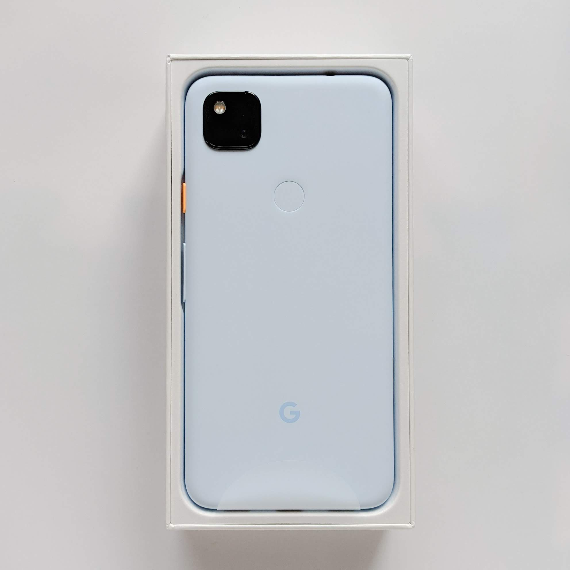 Pixel4a barely blue